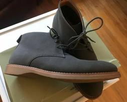 Men's Grey Boots Casual Dress Everyday Boots Desert Chukka B