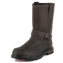 Ariat Men's Groundbreaker H2O Moc Toe Work Boots 10016254