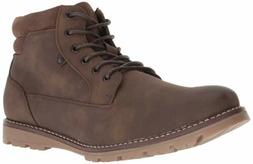Unlisted by Kenneth Cole Men's Hall Way Fashion Boot Brown 8
