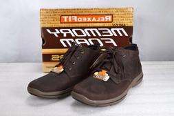 Men's Skechers Harper- Melden Lace up Boots Chocolate