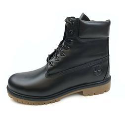 "Timberland Men's Heritage Premium 6"" Waterproof Black Full G"