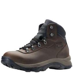 Men's Hi-Tec Peak Mid WP I - Brown - Width: med - Boots