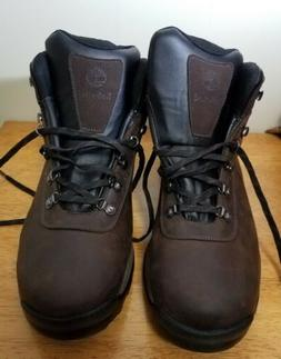 Timberland Men's Hiking Boot Mid Dark Brown Waterproof Leath