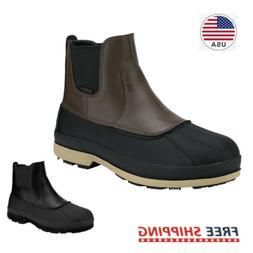 Men's Insulated Waterproof Winter Snow Boots Warm Outerdoor