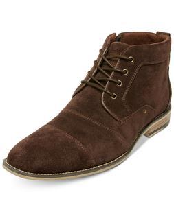 Steve Madden Men's Jonnie Boots Brown Suede 7.5
