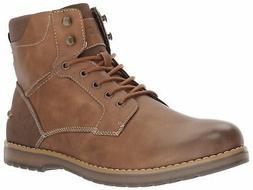 IZOD Men's Leon Ankle Boot, tan, 7 Medium US - Choose SZ/col