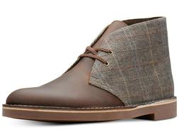 Clarks  Men's Limited Edition Tweed Bushacres Boots Glen Pla