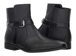 Calvin Klein Men's Lincoln boots Black Size US 9 EU 42 Side