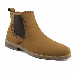 Bruno Marc US Men's Suede Leather Casual Dress Ankle Chukka
