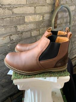 Men's IZOD Lucas Casual Chukka Boot Memory Foam Brown Comfor