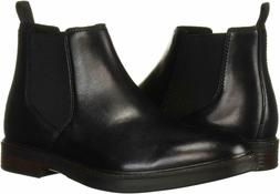 Men's Clarks Men's Paulson Up Chelsea Boot Black Leather 261