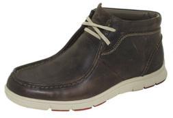 Clarks Men's Milloy Mid Boot Dark Brown Style 02495, 8M