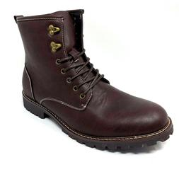 Bruno Marc New York Men's Motorcycle Winter Combat Boots Sz