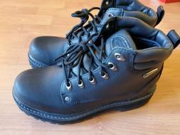 Skechers Men's Pilot Utility Boot Black 8M US NEW