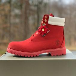 """Timberland Men's Premium 6"""" Boots - Limited Holiday Edition"""