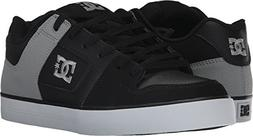 DC Men's Pure Shoes,Black/Black/Grey,8.5 D US