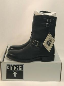 FRYE Men's Rand Engineer Boots 87241 Biker Motor Cycle Black