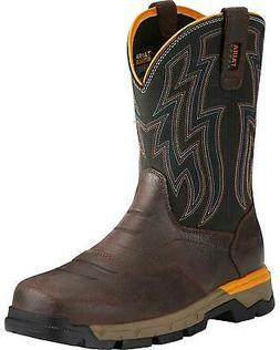 Ariat Men's Rebar Flex Western Work Boot - Soft Toe - 100214