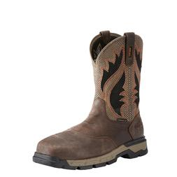 Ariat® Men's Rebar West VentTEK Composite Toe Brown Work Bo