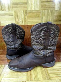 Durango Men's Rebel Pull On Steel Toe Boots Size 15 EE