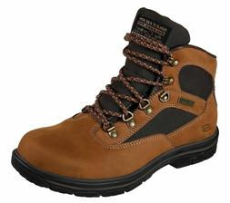Skechers Men's Relaxed Fit Segment Mixon Boot 65176 Brown Si