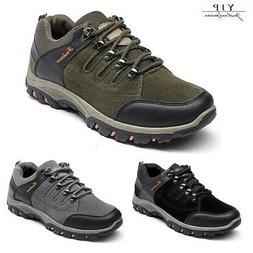 YJP Men's Safety Shoes Summer Breathable Work Boots Hiking C