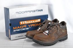 Men's Skechers Segment- Melego Boots Dark Brown