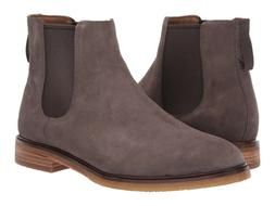 Men's Shoes Clarks CLARKDALE GOBI Suede Pull On Chelsea Boot