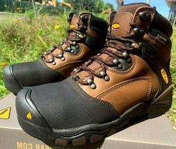 Keen Men's Size 8 D Steel Toe Waterproof New Boots Work  Lou