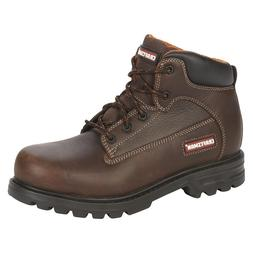 Craftsman Men's Soft Toe Leather Work Boot Kahn Brown Slip O