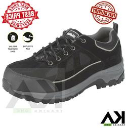 Craftsman Men's Soft Toe Leather Work Boot Kahn Slip Oil Res