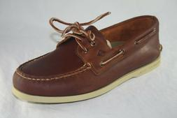 MEN'S SPERRY TOP-SIDER A/O 2-EYE PULLUP STS18309 TAN COLOR B