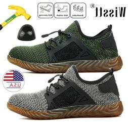 Men's Sport Alloy Work Safety Shoes Steel Toe Boots Indestru