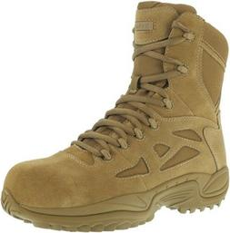 "Reebok Men's Stealth 8"" Rapid Response RB Coyote Boots - RB8"