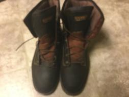 Men's Carolina Steel Toe Leather Work Boots Size 15  3E