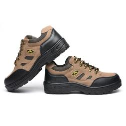 Men's Steel Toe Work Boots Composite Toe Industrial and Cons