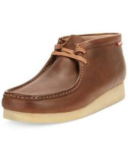 Clarks Men's Stinson Wide Wallabee Chukka Boots - Beeswax -