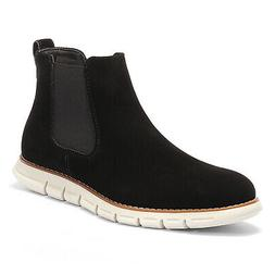 Bruno Marc  Men's Suede Leather Chelsea Boots Casual Ankle P