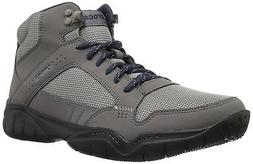 Crocs Men's Swiftwater Hiker Mid M Boot, Graphite/Black, 8 M