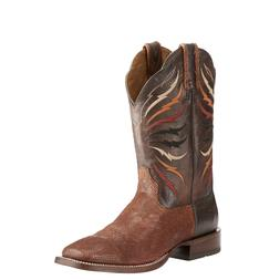 Ariat® Men's Switchblade Sable & Gray Lizard Print Boots 10