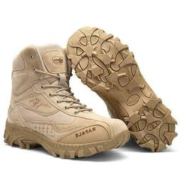 Men's Tactical Military Boots Outdoor Mid-Ankle Trekking Hik