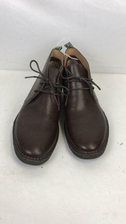 Polo Ralph Lauren Men's Talan Chukka Size 10.5 Brown Leather