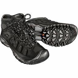 Men's KEEN Targhee EXP Mid Waterproof Boots- black
