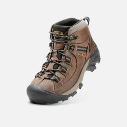 KEEN Men's Targhee II Mid Waterproof Hiking Boot Shitake/Bri
