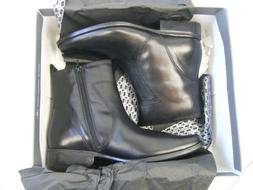 Men's Rockport Toloni Black Leather Low Boot  NWT Size 10
