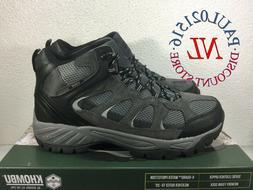 NEW Khombu Men's Tyler Boot, Black, Suede Leather, All Terra