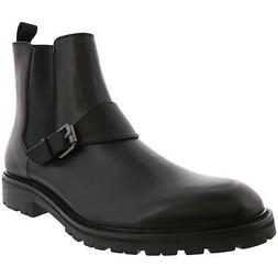 Calvin Klein Men's Upton Dress Calf Ankle-High Leather Boot