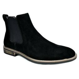 BRUNO MARC NEW YORK Men's Urban-06 Suede Leather Chukka Ankl