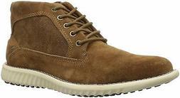 Steve Madden Men's Vasco Ankle Boot, Cognac Suede, Size 9.5