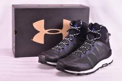Men's Under Armour Verge Mid Hiking Boots Black/Ultra Blue